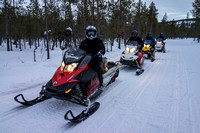 Sweden, Finland, Lapland, Russia - March 2013