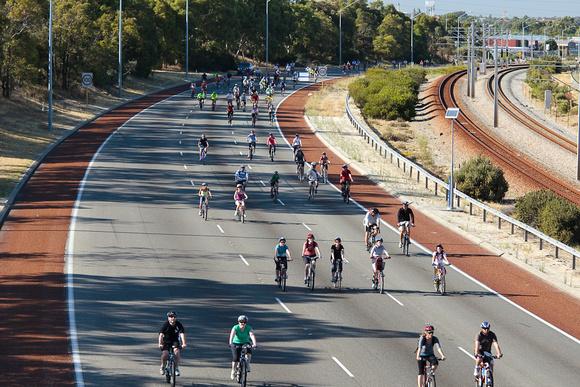 Freeway Bike Ride
